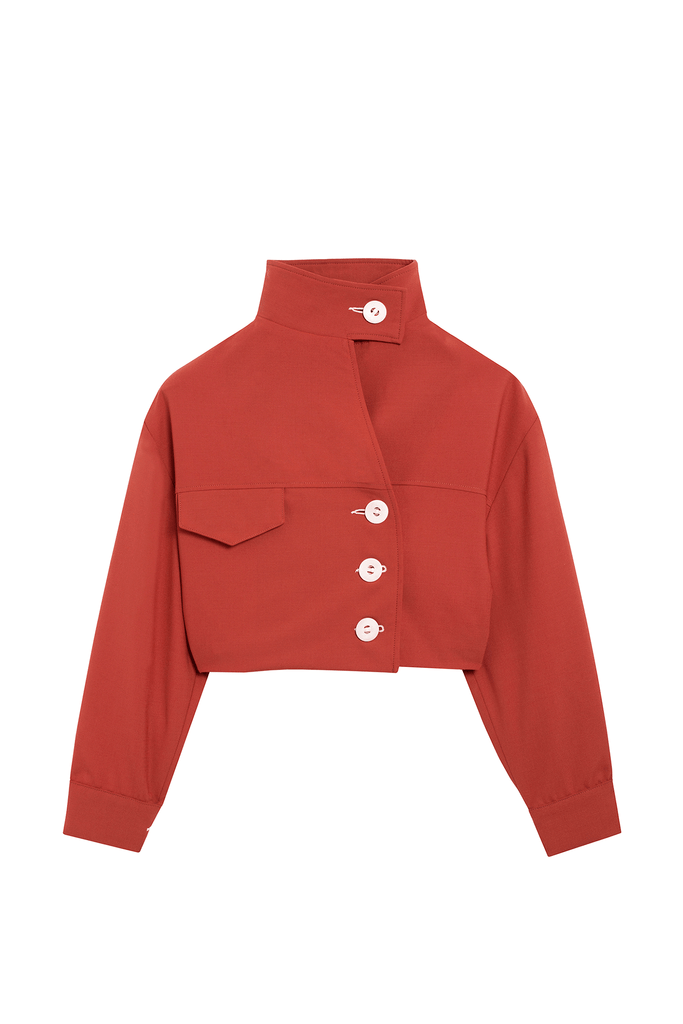 veste terracotta - the sherlock uniform