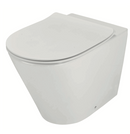 Novelli Concelo Wall Faced Toilet Pan & Cistern & Flush Plate