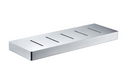 Novelli Whiteley Shower Shelf Metal Satin Nickel