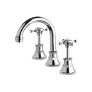 Victorian Basin Standard Fixed & Swivel Set 115mm Outlet