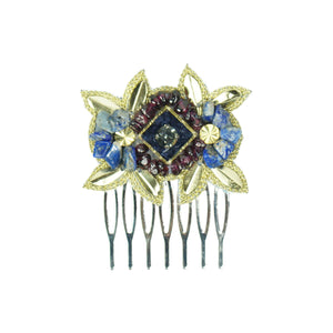 Tasha - Beaded Hair Slide / Comb