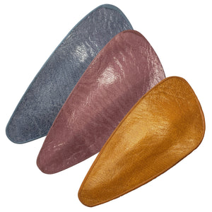 Faux Leather Petal Snap Clip (Gaucho 3-Pack)