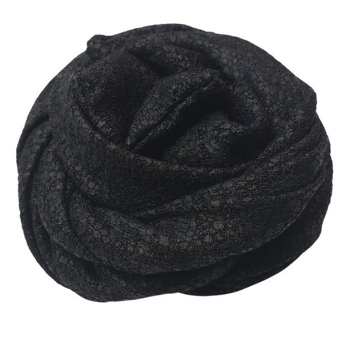 Flexible Wire Headwrap (Black)