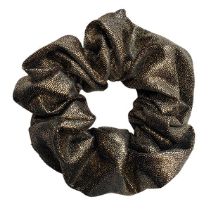 Silky and Smooth Metallic Dots Scrunchie - 4 pack (Smooth Operator)