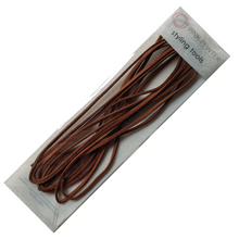 Faux Suede Styling Cord - 3 Yards / 9 Feet Strand (Brown)