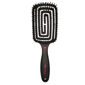 """Extreme Vented Flex"" Large Boar/Nylon Contoured Styling Brush"