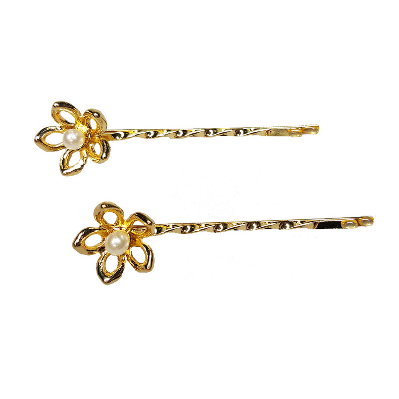 Catherine Duchess of Cambridge - Pearl Flower Pins (2pc)