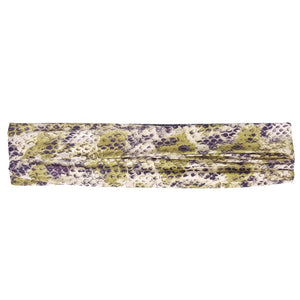 Ariana - Microfiber Snake - Sports Wrap (Purple)