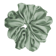 "Luxe ""Oversized"" Plush Scrunchie (Spearmint)"