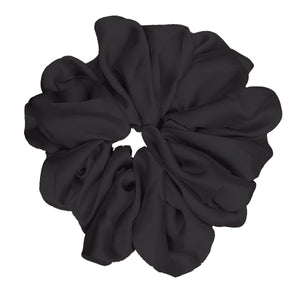 "Luxe ""Oversized"" Plush Scrunchie (Midnight)"