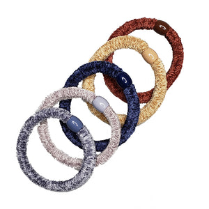 Pony Elastics in Cylinder (Boogie Nights - 5pc)
