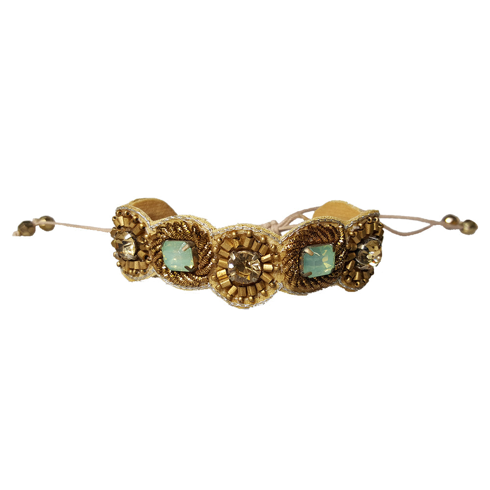Shelly - Bracelet (Bronze / Mint)