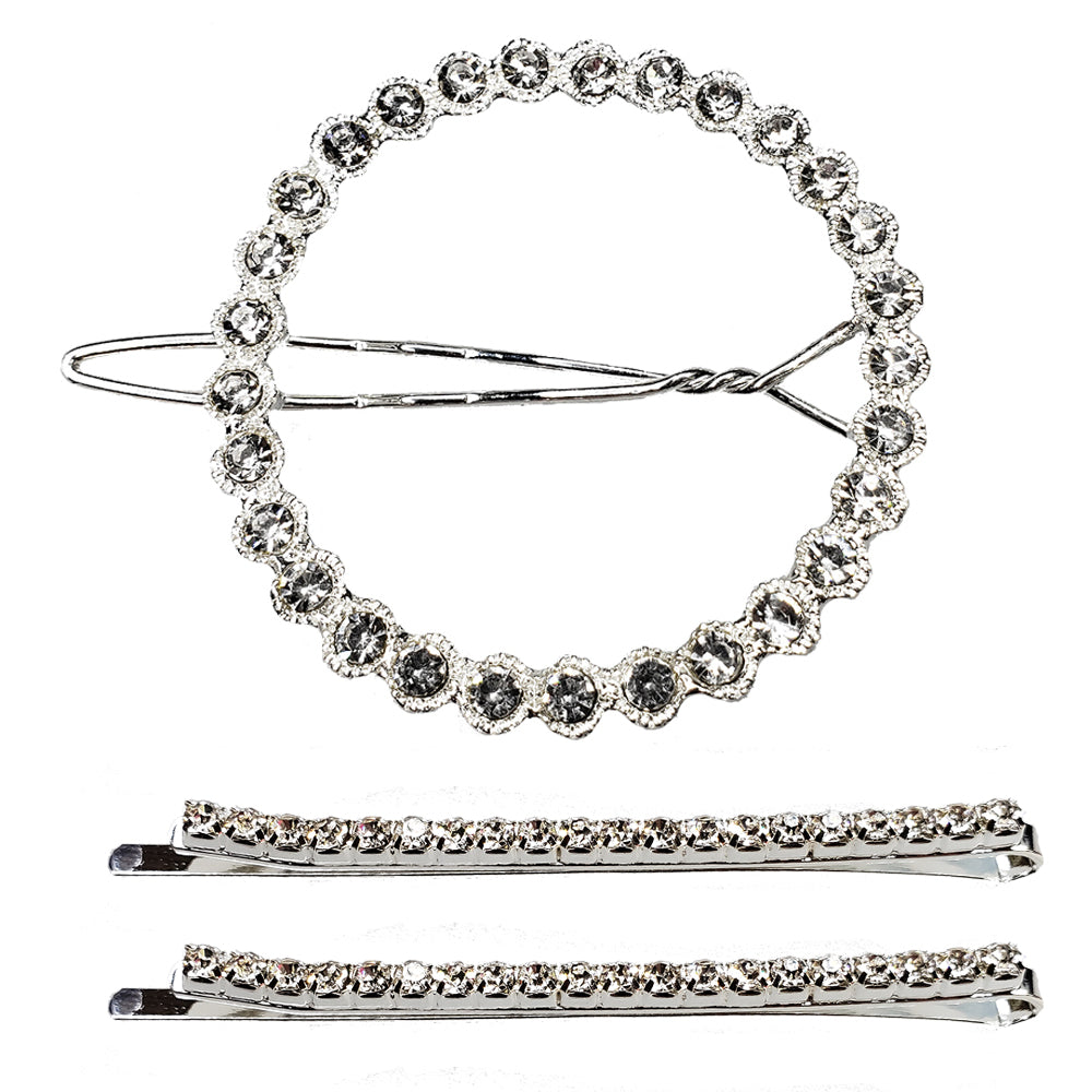 Corona - Metal Bobby Pins and Circle Clip Set (3pc)