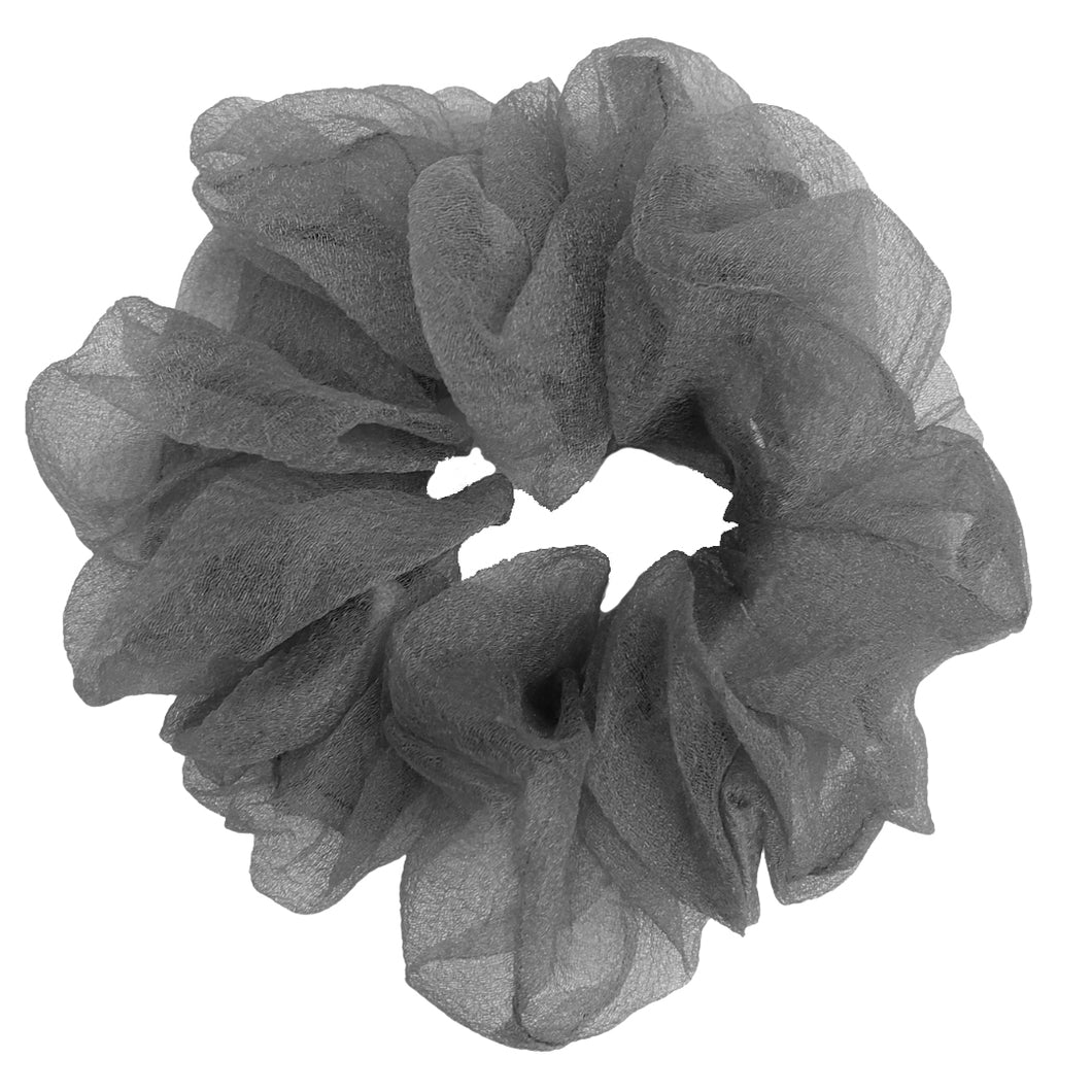 Luxe Sheer and Delicate Scrunchie (Ash)