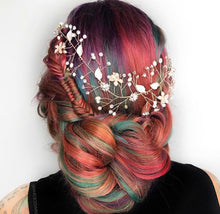 Miss Fisher - Hair Vine (Rose Gold / Pink)