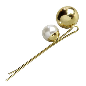 Lady Jane Grey - Pearl and Gold Statement Bobby Pin