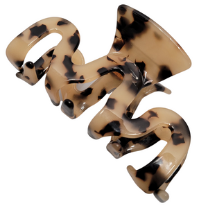 Marbled Claw Hair Clip - 3pc (Calacatta Pack)
