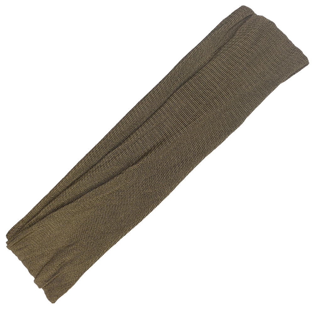 Rue - Wide Military Green Sports Wrap / Face Scarf  (#191)