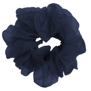 Luxe Sheer and Delicate Scrunchie (Navy)