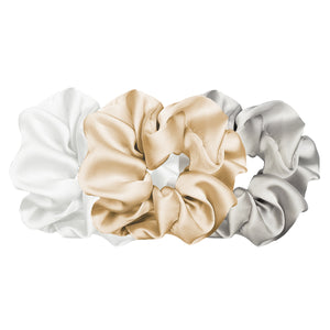 Luxe Plush Scrunchie - Gentle and Mellow (3pcs)