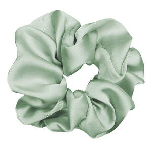 Luxe Plush Scrunchie (Spearmint)
