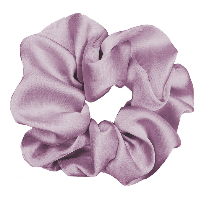 Luxe Plush Scrunchie (Thistle)
