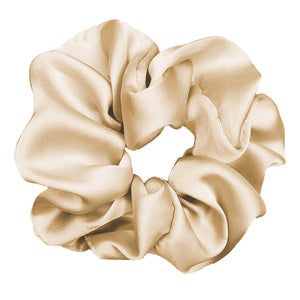 Luxe Plush Scrunchie (Almond)