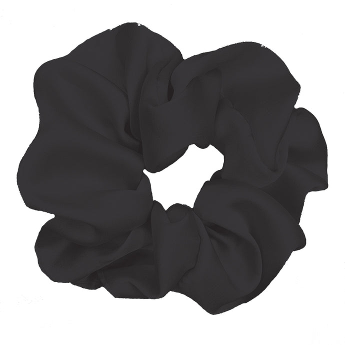 Luxe Plush Scrunchie (Midnight)