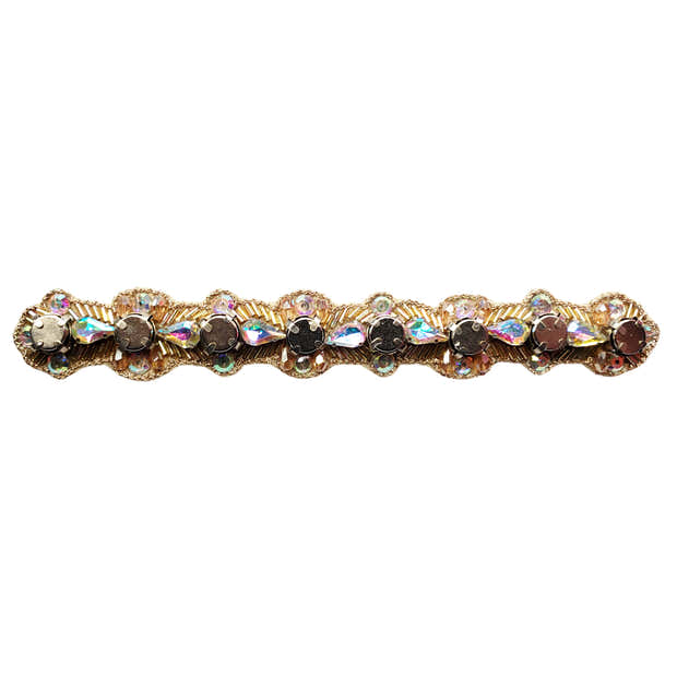 Bendable Magnetic Pin and Makeup Holder Bracelet - (A/B Rose Gold) 1