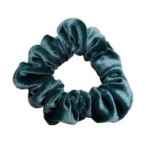 Luxe Velvet Scrunchie (Sea Salt)