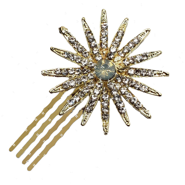 Astria - Spiked Star Metal Hair Comb 1