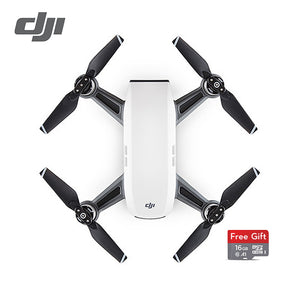 DJI Spark drone (not fly more combo) with 16GB microSD Pocket Selfie Drone  WiFi FPV With 12MP Camera (EU Version)