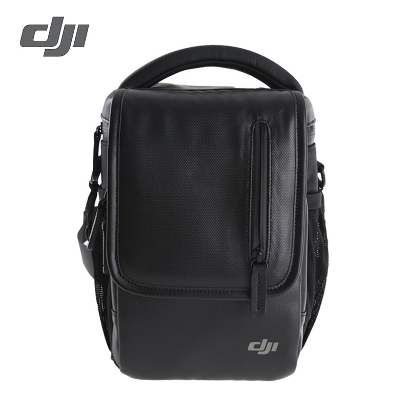 DJI Mavic Pro Shoulder Bag Holds: 1 aircraft, 1 controller, 4 batteries, 1 smartphone, and smaller accessories such as cables