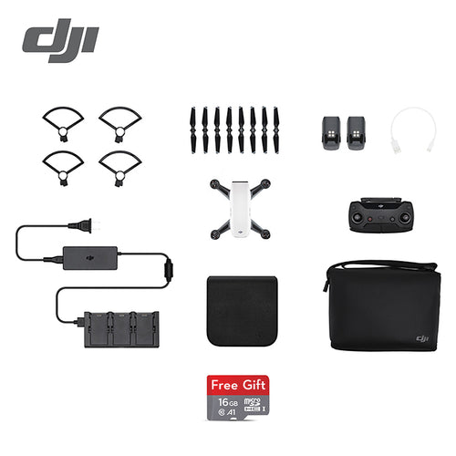 DJI Spark fly more combo drone 1080P HD Camera Drones ( Gift: 16GB MicroSD ) five colors EU Version in stock