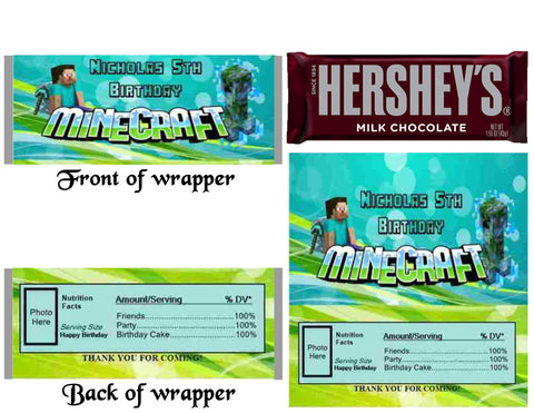 Personalized Candy Wrappers – Tagged \