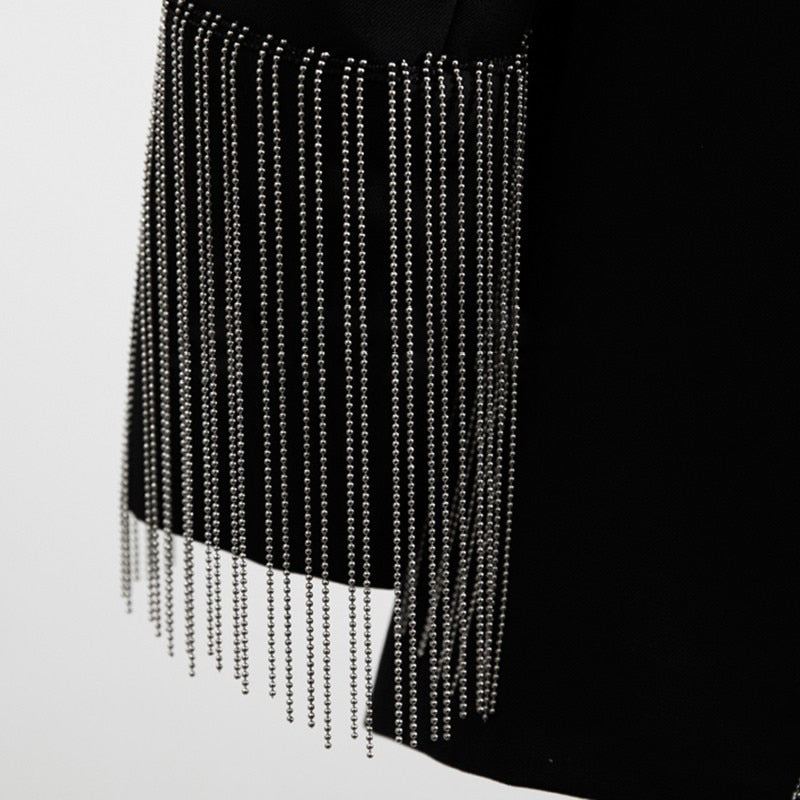 Backless Chains blazer