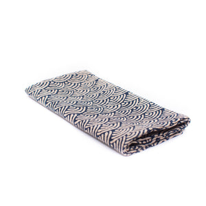 Japanese Indigo Napkin Set - Scallop Wave
