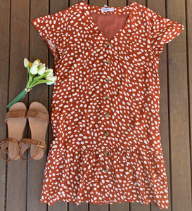 Rusty Dress, Dresses, Honey & Co Online Boutique, Honey & Co Online Boutique - Honey & Co Online Boutique