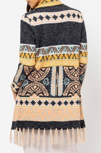 Charli Longline Cardi, Jumper, Honey & Co Online Boutique, Honey & Co Online Boutique - Honey & Co Online Boutique