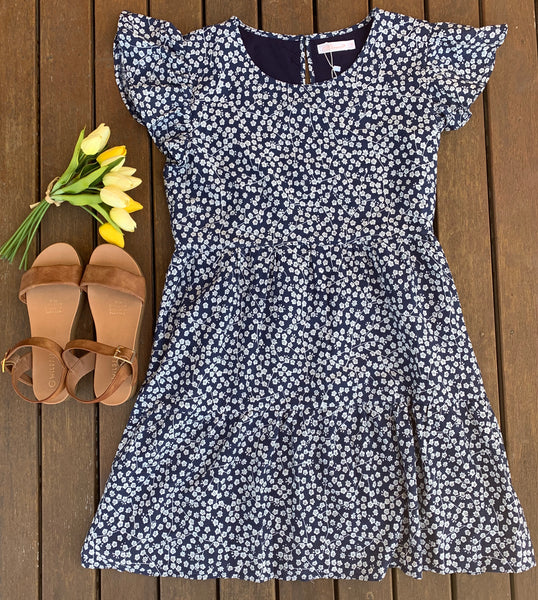 Blue Bird Dress, Dresses, Honey & Co Online Boutique, Honey & Co Online Boutique - Honey & Co Online Boutique