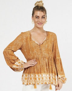 Sahara Blouse, Top, Honey & Co Online Boutique, Honey & Co Online Boutique - Honey & Co Online Boutique
