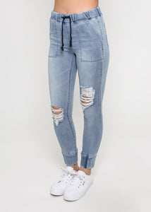Arianna Jogger Jeans, , Honey & Co Online Boutique, Honey & Co Online Boutique - Honey & Co Online Boutique