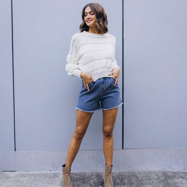 Mello Knit, Jumper, Honey & Co Online Boutique, Honey & Co Online Boutique - Honey & Co Online Boutique