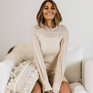 Olivia Knit, Jumper, Honey & Co Online Boutique, Honey & Co Online Boutique - Honey & Co Online Boutique