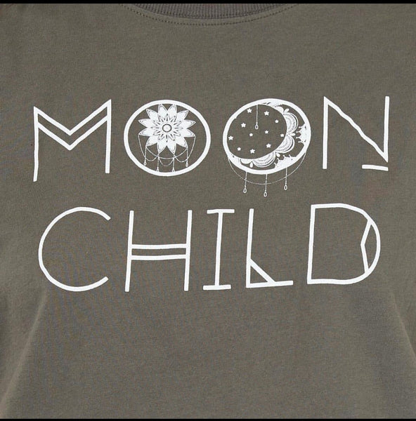 Moon Child Paper Heart Tee, Top, Honey & Co Online Boutique, Honey & Co Online Boutique - Honey & Co Online Boutique