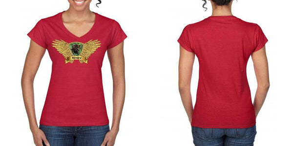 Lady V Neck T-Shirt