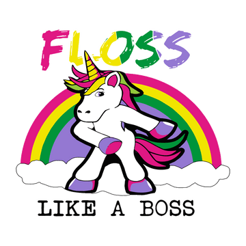 Unicorn Floss Like A Boss