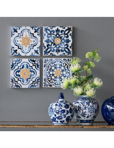 NOMAD TILED WALL ART SET - decorstore