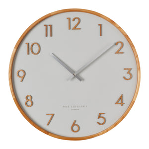 Rouge Cool Grey 50Cm Wall Clock - decorstore