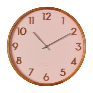 Rouge Blush 50Cm Wall Clock - decorstore